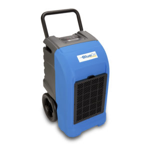 BLUEDRI™  BD-76P  COMMERCIAL  DEHUMIDIFIER BLUE