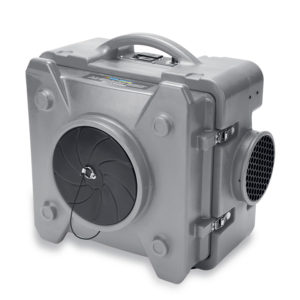 BLUEDRI™  AIR SHIELD 550 HEPA  AIR SCRUBBER GREY