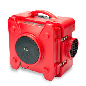 BLUEDRI™  AIR SHIELD 550 HEPA  AIR SCRUBBER RED