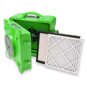 BLUEDRI™  AIR SHIELD 550 HEPA  AIR SCRUBBER GREEN